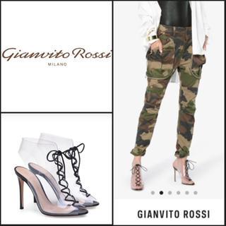 ジャンヴィットロッシ(Gianvito Rossi)のジャンヴィトロッシ サンダル ブーティー パンプス ハイヒール ロッシ(サンダル)
