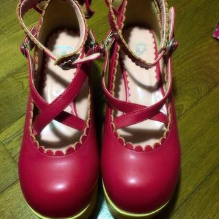 ベイビーザスターズシャインブライト(BABY,THE STARS SHINE BRIGHT)の木底シューズ (ローファー/革靴)
