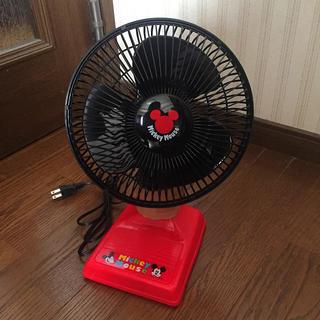 ディズニー(Disney)のプーさん専用 ミッキーマウス 扇風機 新品(扇風機)