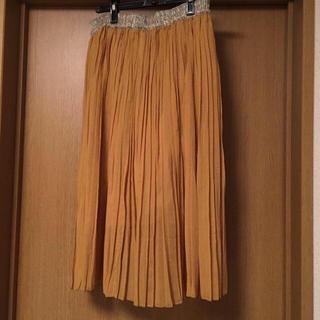 バビロン(BABYLONE)のshimo様専用BABYLONE/イエロープリーツスカート(ロングスカート)