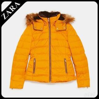 ザラ(ZARA)の☆ZARA☆ フード付きダウンジャケット(ダウンジャケット)