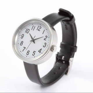 ムジルシリョウヒン(MUJI (無印良品))の新品 無印良品  ソーラー式 腕時計(腕時計)