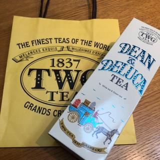 ディーンアンドデルーカ(DEAN & DELUCA)の【TWG】シンガポール限定 DEAN&DELUCAコラボ紅茶(茶)