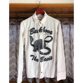 バックボーン(BACKBONE)のBACKBONE 白シャツ(シャツ)