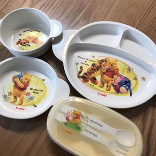 ディズニー(Disney)のコンビ 離乳食 食器セット(離乳食器セット)
