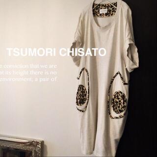 ツモリチサト(TSUMORI CHISATO)のn.aya様★ツモリチサト ワンピ(ひざ丈ワンピース)