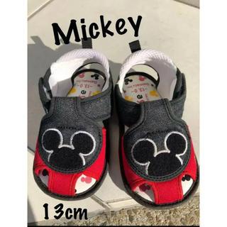 ディズニー(Disney)のディズニー ミッキー サンダル 13センチ(サンダル)