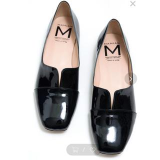 マミアン(MAMIAN)のsnoopy様専用MAMIAN スクエアトゥ切り替えドレスシューズ マミアン(ローファー/革靴)