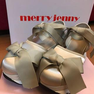 メリージェニー(merry jenny)のmerry jenny ダブルリボンスニーカー(スニーカー)