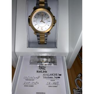 アヴァランチ(AVALANCHE)のICE LINK時計 AVALANCHEネックレスセット(ネックレス)