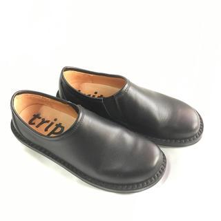 トリッペン(trippen)のトリッペン trippen yen ブラック(ローファー/革靴)