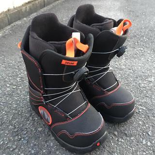 バートン(BURTON)のバートン キッズ用スノーボードブーツ ZIPLINE BOA(ブーツ)