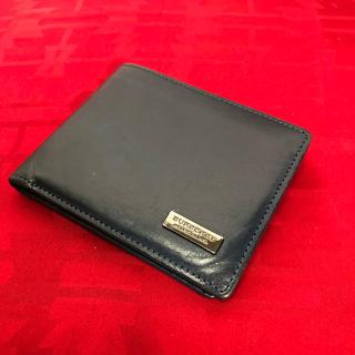 バーバリーブラックレーベル(BURBERRY BLACK LABEL)のBURBERRY バーバリー ブラックレーベル 折りたたみ財布 正規品(折り財布)