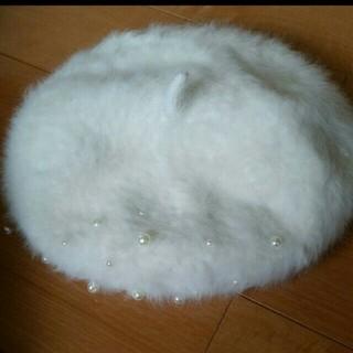 シマムラ(しまむら)のファー ベレー帽 (ハンチング/ベレー帽)