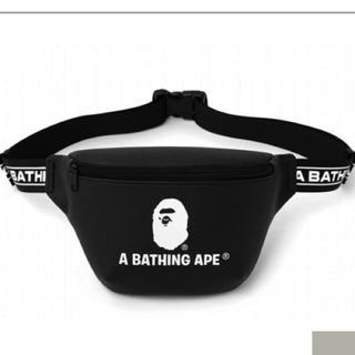 アベイシングエイプ(A BATHING APE)の新品A BATHING APE ア ベイシング エイプ レザー調 ウエストバッグ(ウエストポーチ)