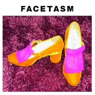 ファセッタズム(FACETASM)のfacetasm パンプス シューズ 24cm ファセッタズム 個性 17AW(ハイヒール/パンプス)