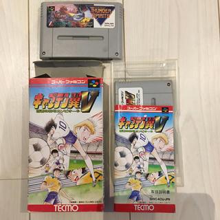 スーパーファミコン(スーパーファミコン)の専用 キャプテン翼5&サンダースピリッツ(家庭用ゲームソフト)