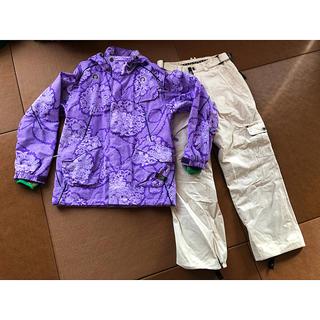 インハビダント(inhabitant)の★inhabitant  インハビタント ◎スノーボードウェア◎紫×白(ウエア/装備)