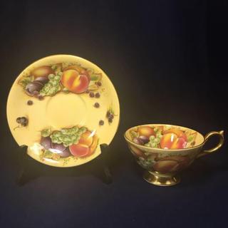 エインズレイ(Aynsley China)のAYNSLEY エインズレイ オーチャードゴールド ティーカップ&ソーサー (グラス/カップ)