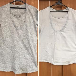 ムジルシリョウヒン(MUJI (無印良品))の【無印良品】半袖授乳Tシャツ(マタニティトップス)