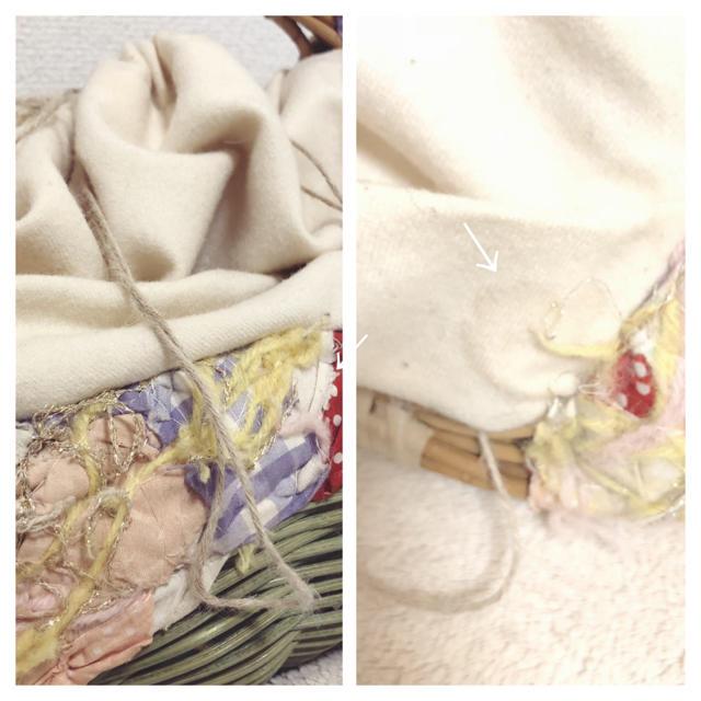 H.P.FRANCE(アッシュペーフランス)のH.P france mina pehonen YOSHIKO籠バッグ  レディースのバッグ(かごバッグ/ストローバッグ)の商品写真