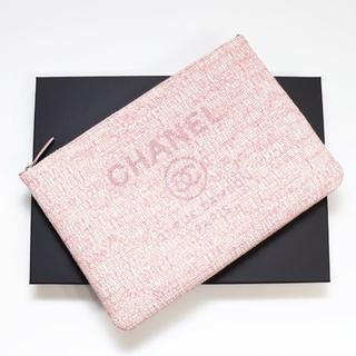 ce6215e1899e シャネル(CHANEL)の新品 正規品 シャネル バッグ クラッチバッグ ドーヴィル キャンバス セカンド(