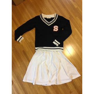 シマムラ(しまむら)の女児140センチ 服(スカート)