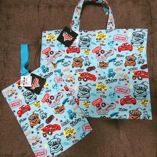 ディズニー(Disney)のディズニーカーズ 通園バッグ+靴袋(通園バッグ)