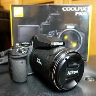 ニコン(Nikon)の「ぴよ様専用」Nikon COOLPIX P900 超望遠デジカメ 美品(コンパクトデジタルカメラ)