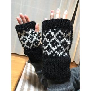 ハンドメイドアームウォーマー(手袋)