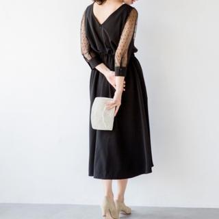アパートバイローリーズ(apart by lowrys)のドレス*ワンピース(ブラック)(ロングワンピース/マキシワンピース)
