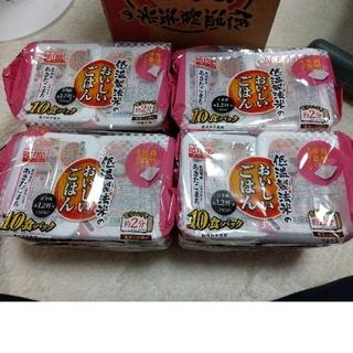 コストコ(コストコ)の40食セット パックご飯 秋田県産あきたこまち 1等米100% 送料込み(米/穀物)