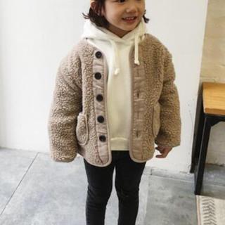ザラ(ZARA)のボアジャケット モコモコ キッズコート (コート)
