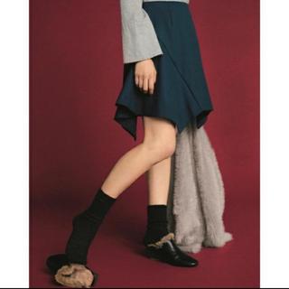 ファーファー(fur fur)のサイドスクエアスカート(ミニスカート)