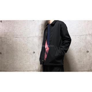 [used]JUNRED black shirt/jacket.(ブルゾン)