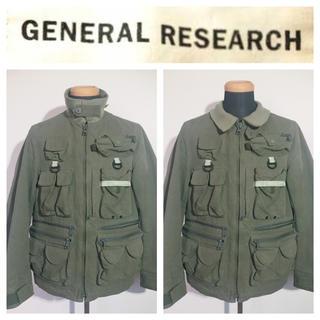 ジェネラルリサーチ(General Research)の希少 GENERAL RESEARCH パラサイトフィッシングジャケット(その他)