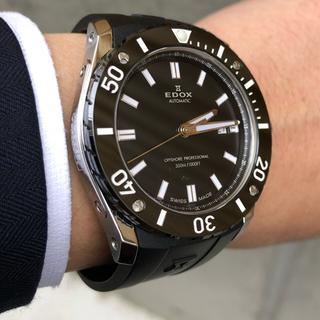 エドックス(EDOX)の【美品】EDOX ★ クロノオフショア1(腕時計(アナログ))