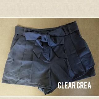 クリアクレア(clear crea)のclear crea パンツ (美品)(ショートパンツ)