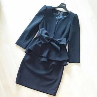 グレースコンチネンタル(GRACE CONTINENTAL)のグレースコンチネンタル♡ペプラムスーツ♡(スーツ)