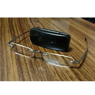カルバンクライン(Calvin Klein)のカルバンクライン calvinklein メガネ 眼鏡 折りたたみ可 (サングラス/メガネ)