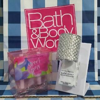 バスアンドボディーワークス(Bath & Body Works)のみー様専用 バスアンドボディワークス ウォールフラワー プラグ&リフィルセット(アロマポット/アロマランプ/芳香器)