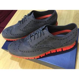 コールハーン(Cole Haan)のCOLE HAAN コールハーン 靴 ゼログランド ウィング オックスフォード(ドレス/ビジネス)