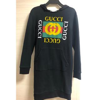 グッチ(Gucci)のナチュラル様専用出品  GUCCI  チルドレンパーカーワンピース(パーカー)