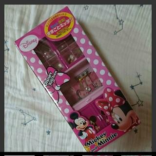 ディズニー(Disney)のディズニー ままごとキッチン シンク 食器棚(ミニチュア)