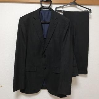 オリヒカ(ORIHICA)のメンズスーツ セットアップ 黒ストライプ(セットアップ)