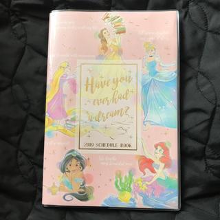 ディズニー(Disney)の2019年版DisneyPrincess手帳(手帳)
