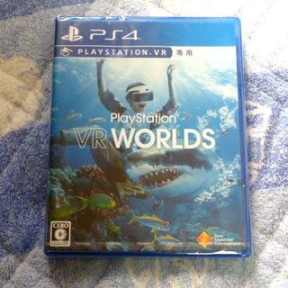 プレイステーションヴィーアール(PlayStation VR)の【新品】PS4 VR WORLDS(家庭用ゲームソフト)