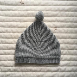 ザラ(ZARA)の新品未使用☆ZARAニット帽1-6ヶ月用☆(帽子)