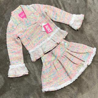 ロニィ(RONI)のRONI セットアップ フォーマル 卒園式 入学式 新品 タグ付き(ドレス/フォーマル)