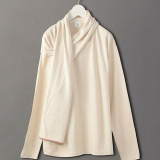 ビューティアンドユースユナイテッドアローズ(BEAUTY&YOUTH UNITED ARROWS)の新品!ROKU shawl pullover(カットソー(長袖/七分))